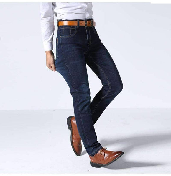 Casual Stretched Slim Jeans