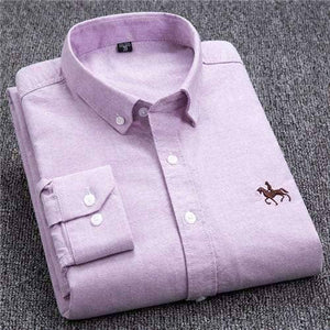 Oxford Style Shirt 100% Cotton - ALL SIZES including Big & Tall Sizes