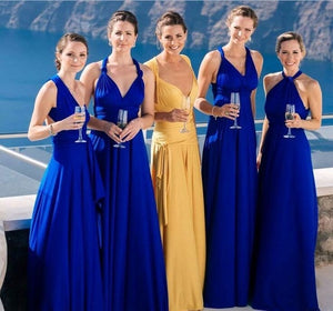 Royal Blue Convertible Bridesmaid Dress