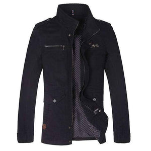 Black Men's Jacket