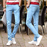 Men's Multicolor Casual Pants