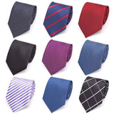 Mens 8cm Formal Tie - Several Designs and Colours