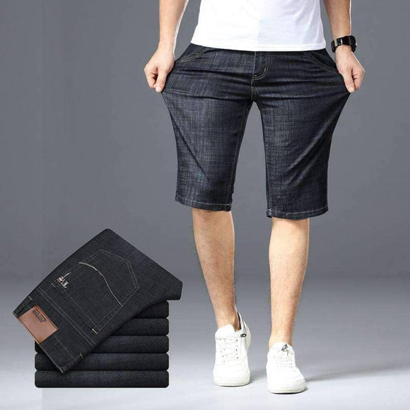 Men's Big Size Denim Shorts - BIG PLUS SIZES