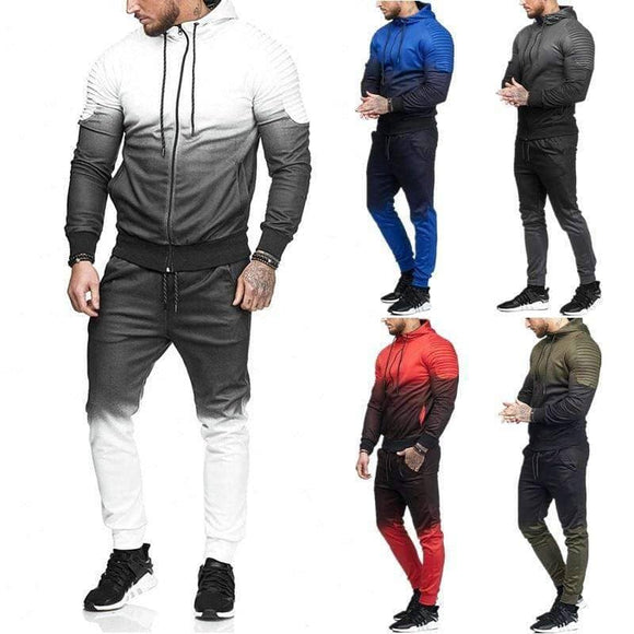 Sporty Sweat 2PCS Suit