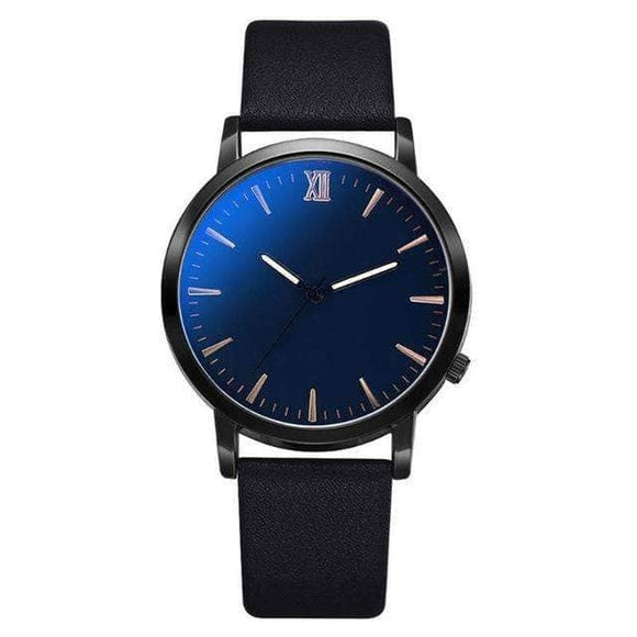Men's Blue Black Watch