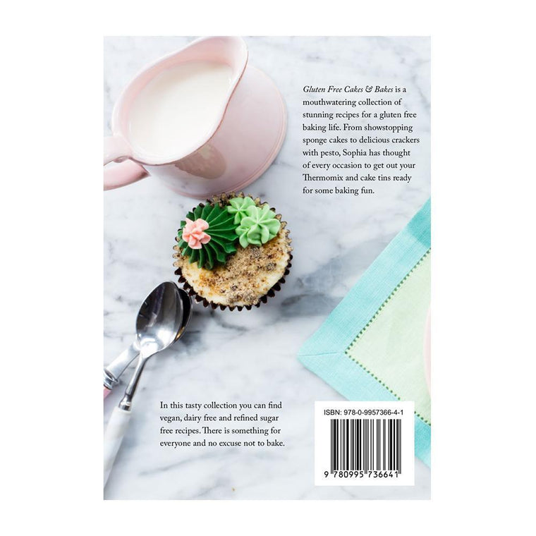 Gluten Free Cakes & Bakes Book - Recipes for Thermomix - thermishop.com.au