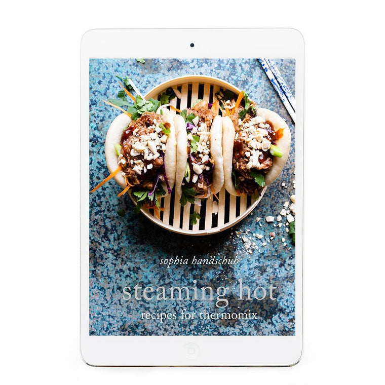 Steaming Hot eBook - Recipes for Thermomix