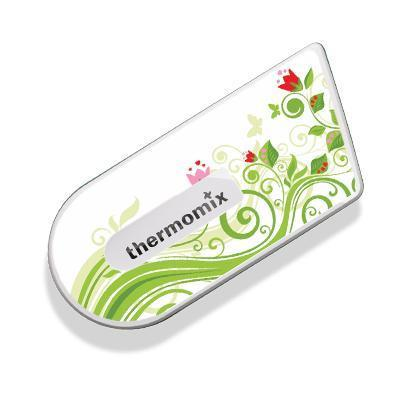 Green Floral Sticker for Cook-Key - thermishop.com.au