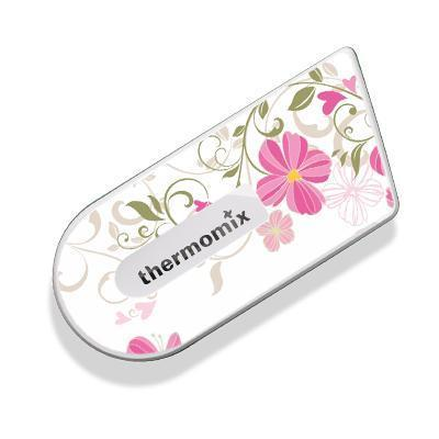 Pink Floral Sticker For Cook Key Thermishopcomau