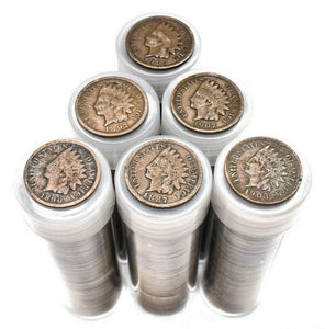 Indian Head Pennies - Full Roll