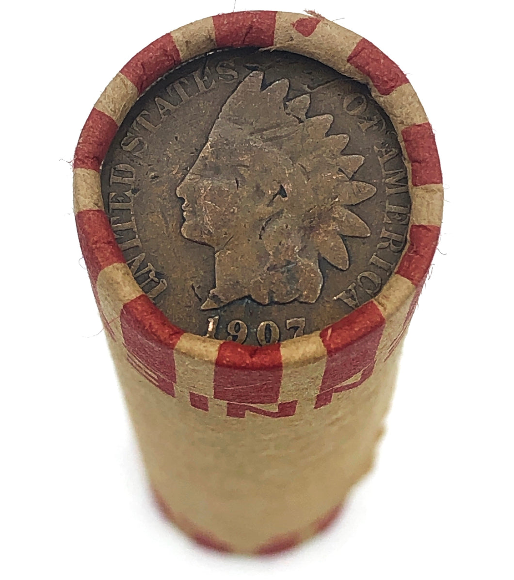 Bank Wheat Penny Roll | Indian Head Cent