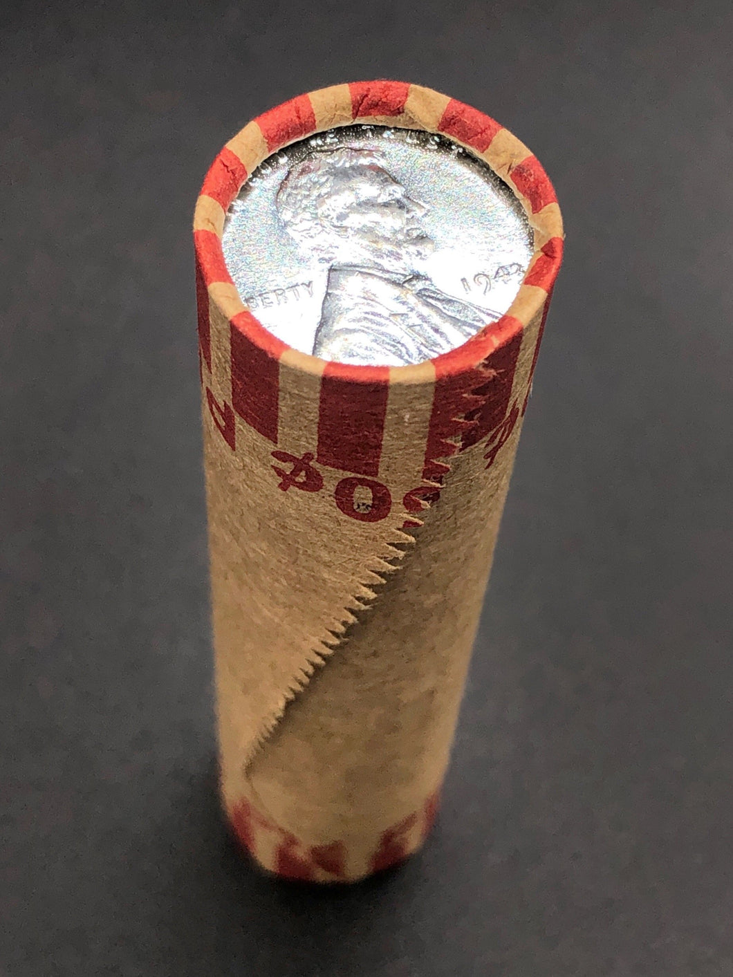 Bank Wheat Penny Roll | Steel Cent
