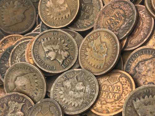 Vintage Indian Head Pennies (Lot of 5)