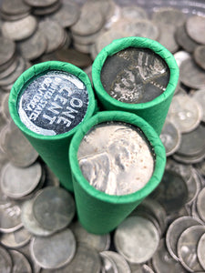 Green Wheat Penny Roll | Steel Cent