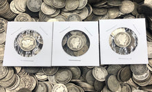 Load image into Gallery viewer, Silver Barber Dimes (Lot of 5)