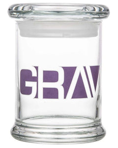 8oz Gravitron Glass Jar