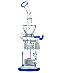 Barrel Perc to Triple Ratchet Perc Klein Incycler