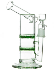 Honeycomb to Turbine Perc Sidecar Water Pipe
