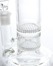 "17"" Double Honeycomb to Tree Perc Water Pipe"