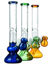 Accented Tree Perc Water Pipe w/ Ashcatcher Bowl