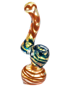 Multi-Colored Fumed Bubbler