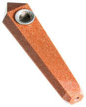 Red Goldsand Quartz Stone Pipe