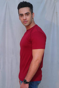 Pure Cotton Red T-shirt