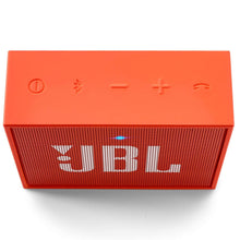 Load image into Gallery viewer, JBL GO Portable Wireless Bluetooth Speaker with Mic (Orange)