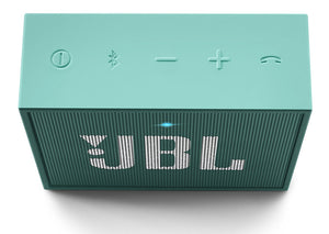JBL Go Portable Wireless Bluetooth Speaker with Mic (Teal)
