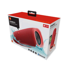 Load image into Gallery viewer, JBL Charge 3 Powerful Portable Speaker with Built-in Powerbank (Red)