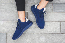 Load image into Gallery viewer, x PHARRELL WILLIAMS HU TENNIS Sneakers Navy Casual Shoes BLACK