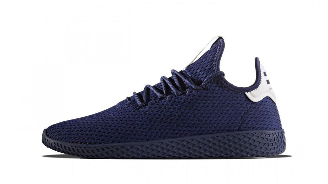 x PHARRELL WILLIAMS HU TENNIS Sneakers Navy Casual Shoes BLACK