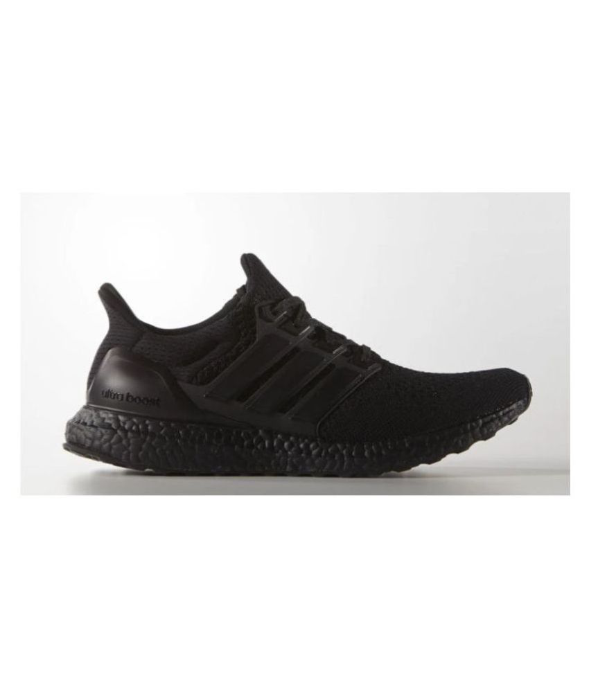 Adidas ultraboost Black Running Shoes