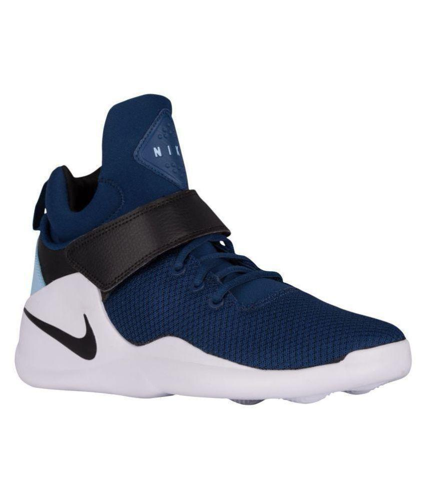 Nike 2018 KWAZI Blue Running Shoes NAVY BLUE
