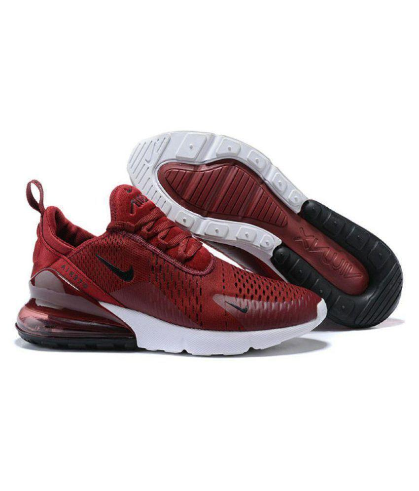 Nike AIR MAX 270 Running Shoes MAROON