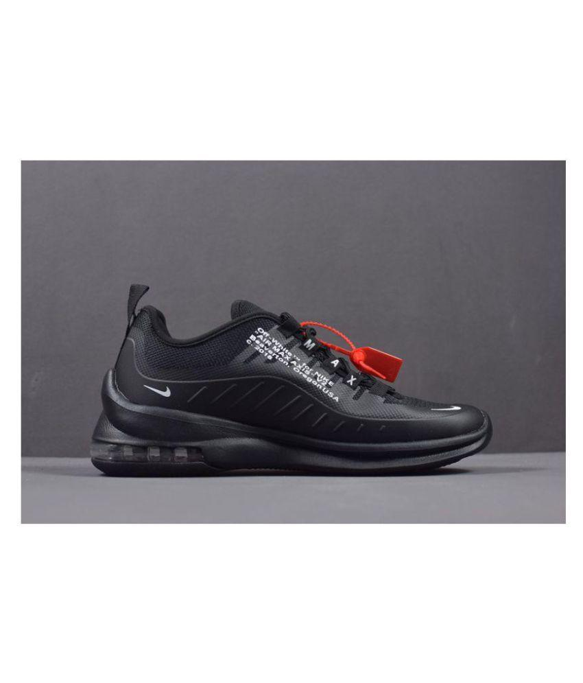 Nike AIR MAX AXIS 2018 Black Running Shoes