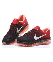 Load image into Gallery viewer, Nike AIRMAX 2017 Running Shoes RED BLACK