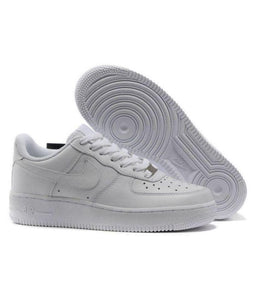 Airforce White Basketball Shoes WHITE