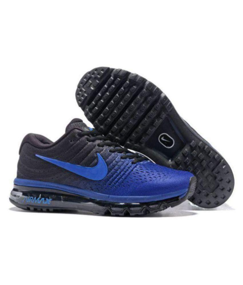 Nike AIRMAX 2017 Running Shoes DARK BLUE