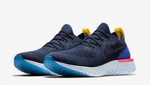Load image into Gallery viewer, Nike Epic React Flyknit Blue Running Shoes