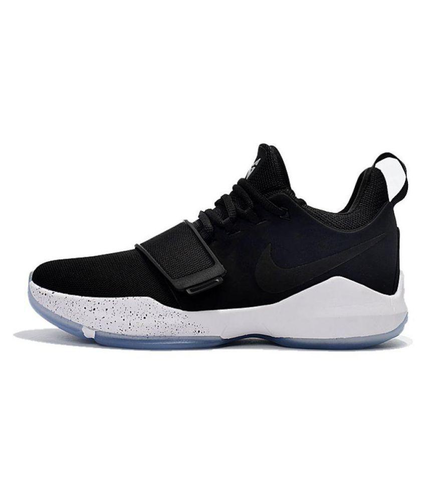 Nike PG 1 Paul George Black Basketball Shoes