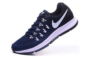 AIR  Zoom Pegasus 33 Running Shoes Navy Blue