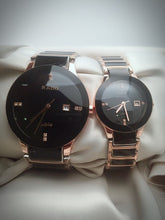 Load image into Gallery viewer, COUPLES WATCH RADO BLACK-KH-A