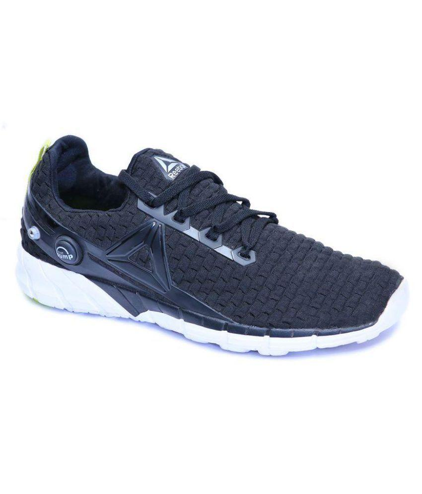 ZPUMP FUSION Black Running Shoes