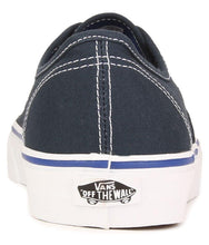 Load image into Gallery viewer, Vans Authentic Sneakers Navy Casual Shoes