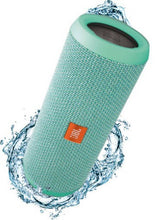 Load image into Gallery viewer, JBL Flip 3 Splash Proof 16 W Portable Bluetooth Speaker  (Teal, Stereo Channel)