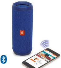 Load image into Gallery viewer, JBL Flip 4 16 W Portable Bluetooth Speaker  (Dark Blue, Stereo Channel)