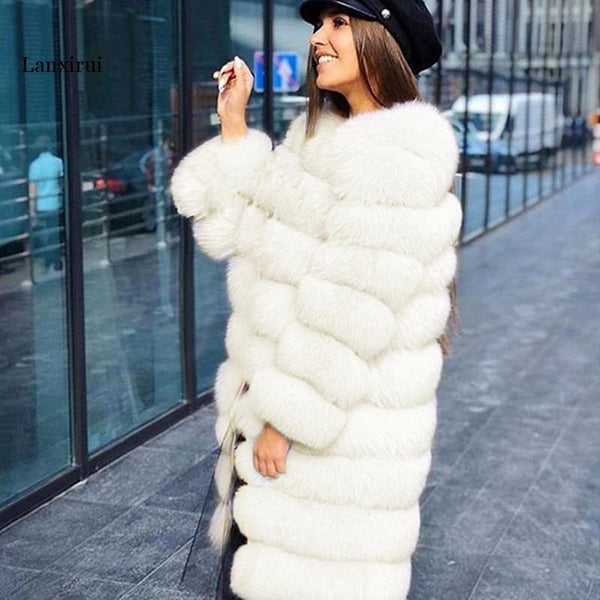 Minti Long Fur Jacket