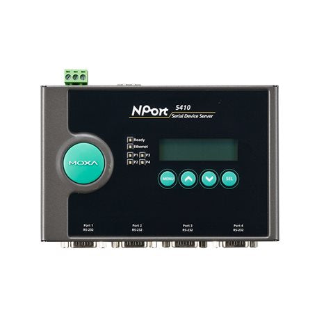 1-port RS-232 serial device server. Details about  /Moxa NPort 5110A