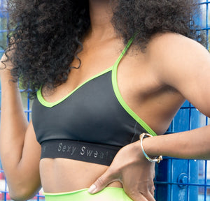 Chrissy Lime Punch Sports Bra